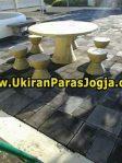 Meja Kursi dari batu alam