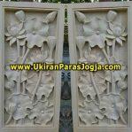 Relief Bunga (100x50x5 cm ) Rp 500.000
