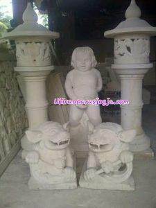 patung&lampion