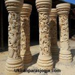 pilar motif ukiran minimalis, pilar untuk tiang rumah