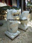patung singa dan patung ikan
