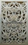 relief tembus motif minimalis