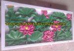 ukiran motif tumbuhan lotus