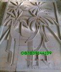 Relief motif rumah