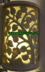 Lampion tempel batu alam