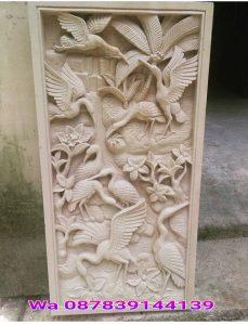 Relief burung