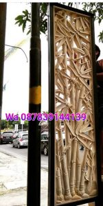 Relief loster bambu