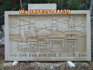 Relief masjid