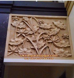 Relief lotus,ukiran lotus, relief tumbuhan,ukiran batu paras, relief batu paras, ornamen, ornamen batu alam,jual batu ukir,batu alam