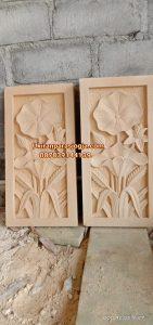 Relief lotus,ukiran tumbuhan,jual batu ukir, ornamen batu alam,jual batu ukir,batu paras Jogja,ukiran hiasan dinding,batu alam