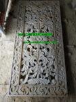 Relief Tembus Motif Klasik dari Batu Paras