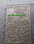 Relief Dinding Bunga Teratai / Lotus